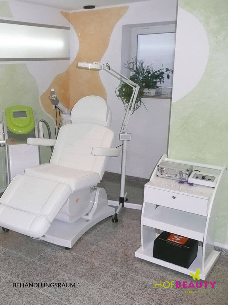 Behandlungsraum 1 im Kosmetikstudio HofBeauty