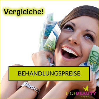 Behandlungspreise im Kosmetikstudio HofBeauty