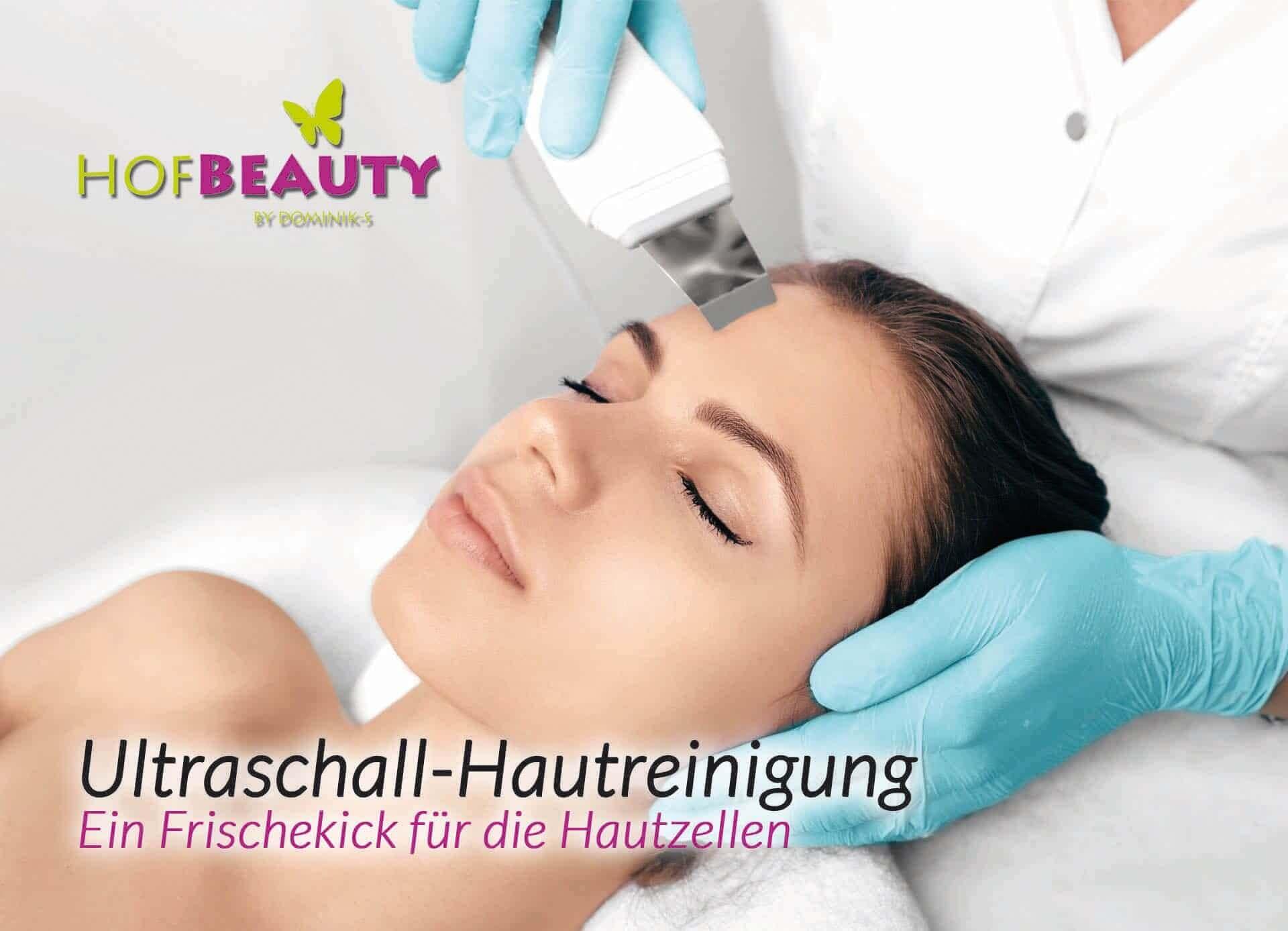 Professionellle Ultraschall Hautreinigung