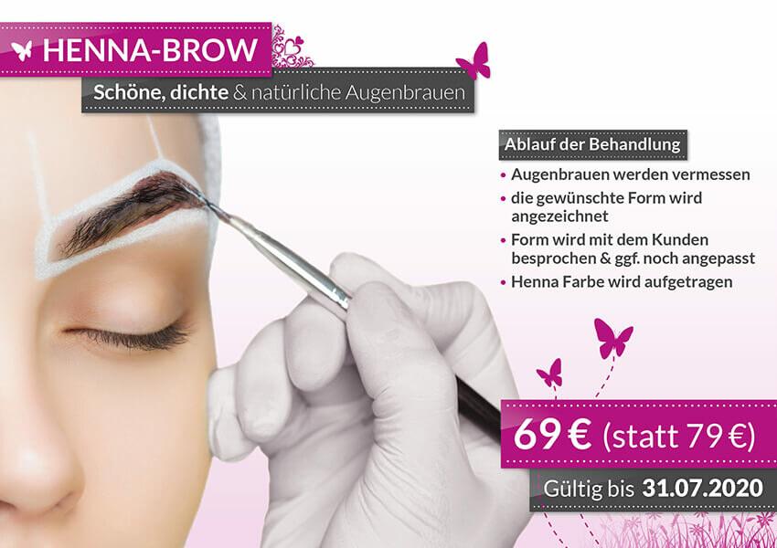 Aktion Henna Brow