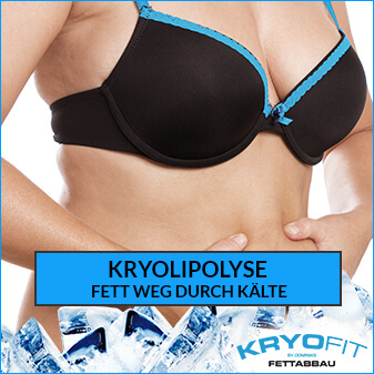 Kryolipolyse - Fett weg durch Kälte