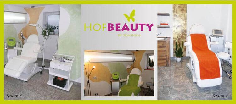 Professionelle Behandlungsräume im Kosmetikstudio HofBeauty in Hof