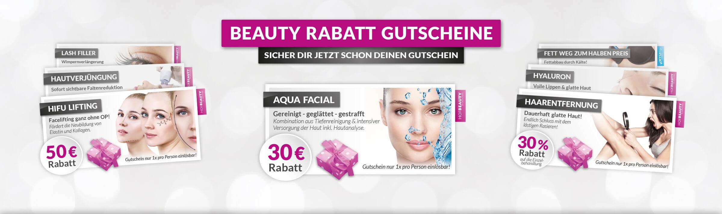 Kosmetikstudio HofBeauty Rabatt Gutscheine