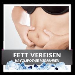 Kryolipolyse - Fett weg durch Kaelte