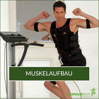Muskelaufbau EMS-Training