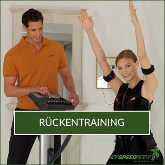 Rücken EMS-Training