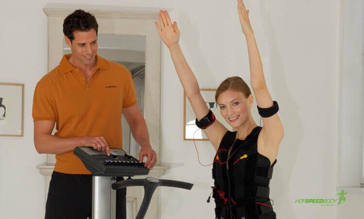 Rückentraining durch EMS-Training