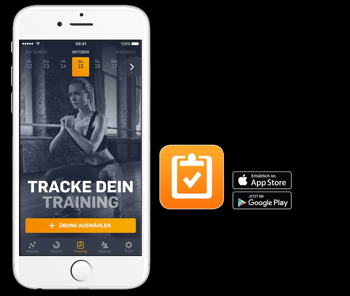 Fitnessstudio HofSports egym Gerätezirkel - egym app - digitaler Trainingsplan