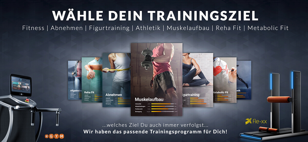 HofSports-Trainingsziele erreichen - egym - fle-xx