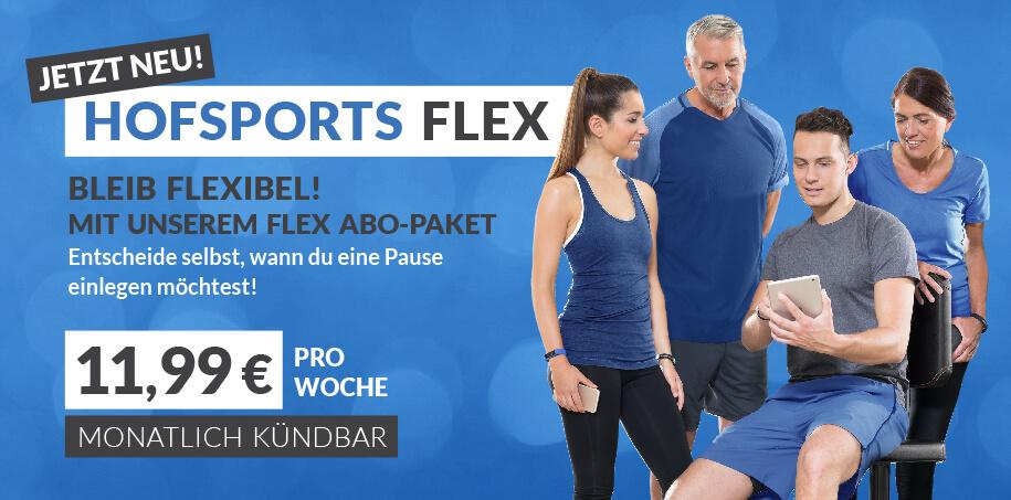 HofSports Flex-Abo-Paket - monatlich kuendbares Abo