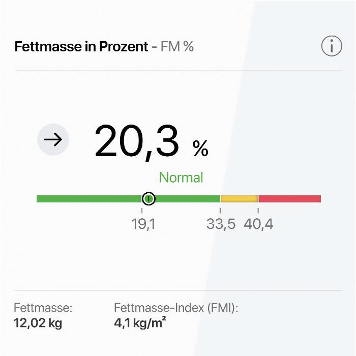HofSports - Körperanalyse deiner Fettmasse mit der neuen seca TRU Waage