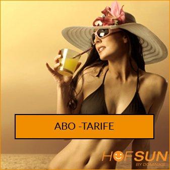 Abo-Tarife Sonnenstudio HofSun