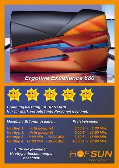 Ergoline Excellence 880 Smart Power
