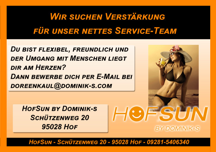 Servicekraft HofSun