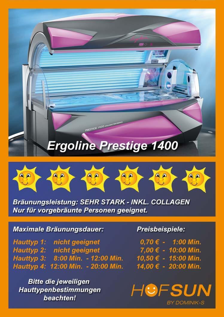 Ergoline Prestige 1400
