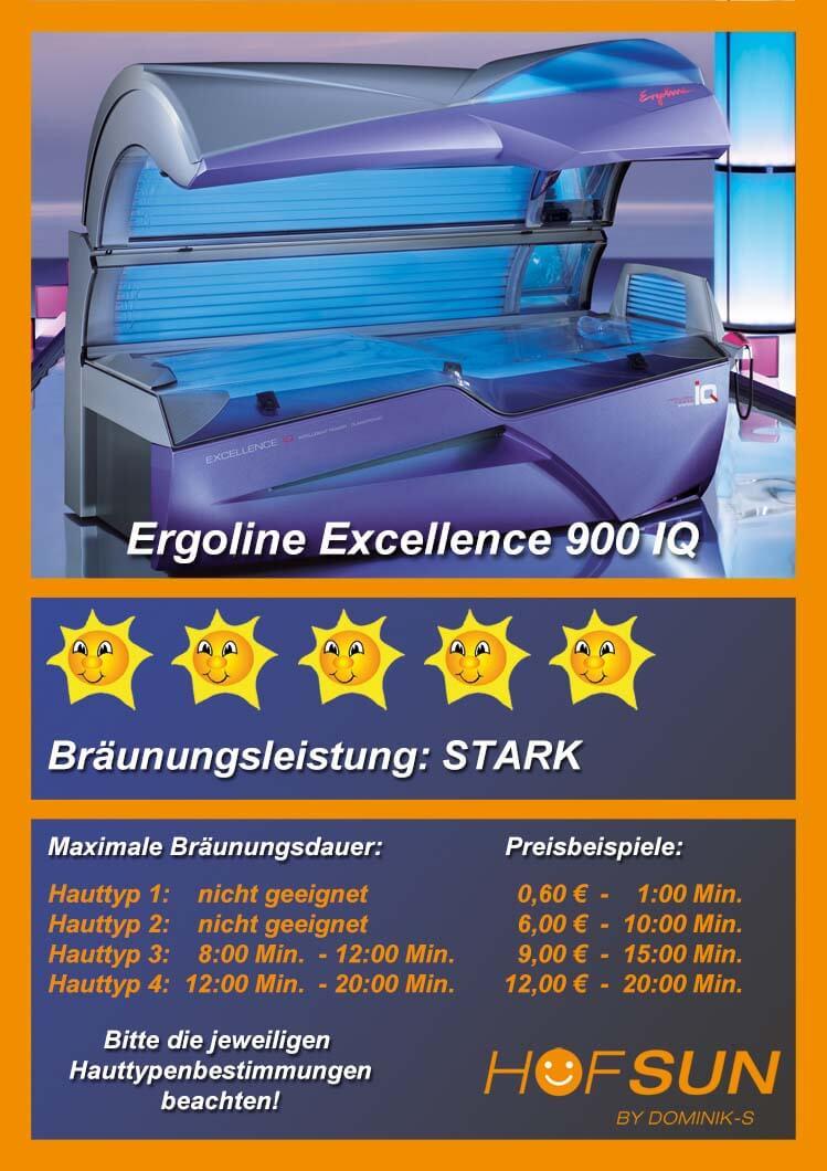Ergoline Excellence 900 IQ