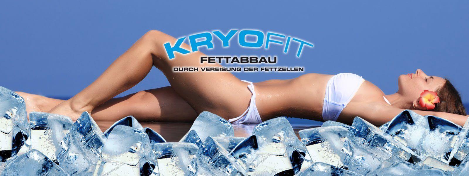 KryoFit Studio Slider - Fettabbau durch Vereisung der Fettzellen
