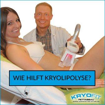 Wie hilft Kryolipolyse?