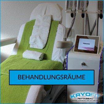 Kryolipolyse Behandlungsräume KryoFit Studio Hof