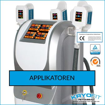 Kryolipolyse Geräte, Applikatoren