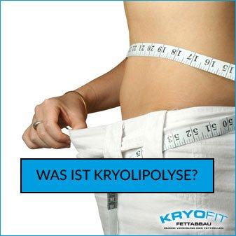 Kryolipolyse und der Fettabbau