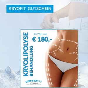 KryoFit Gutschein 180 Euro