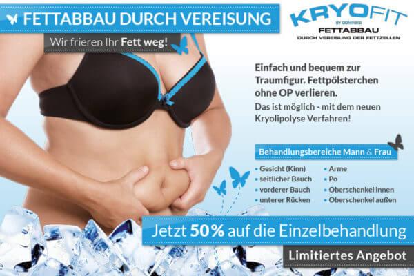 Mit Kryolipolyse zur Traumfigur - Kryofit Studio in Hof