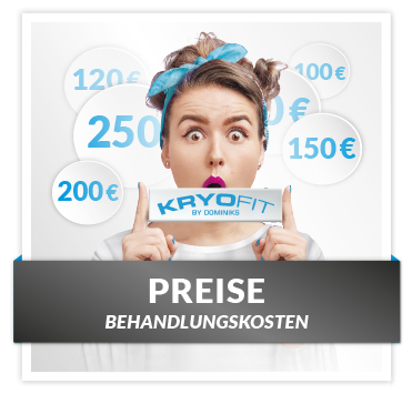 Kryolipolyse Behandlungspreise KryoFit Studio Hof