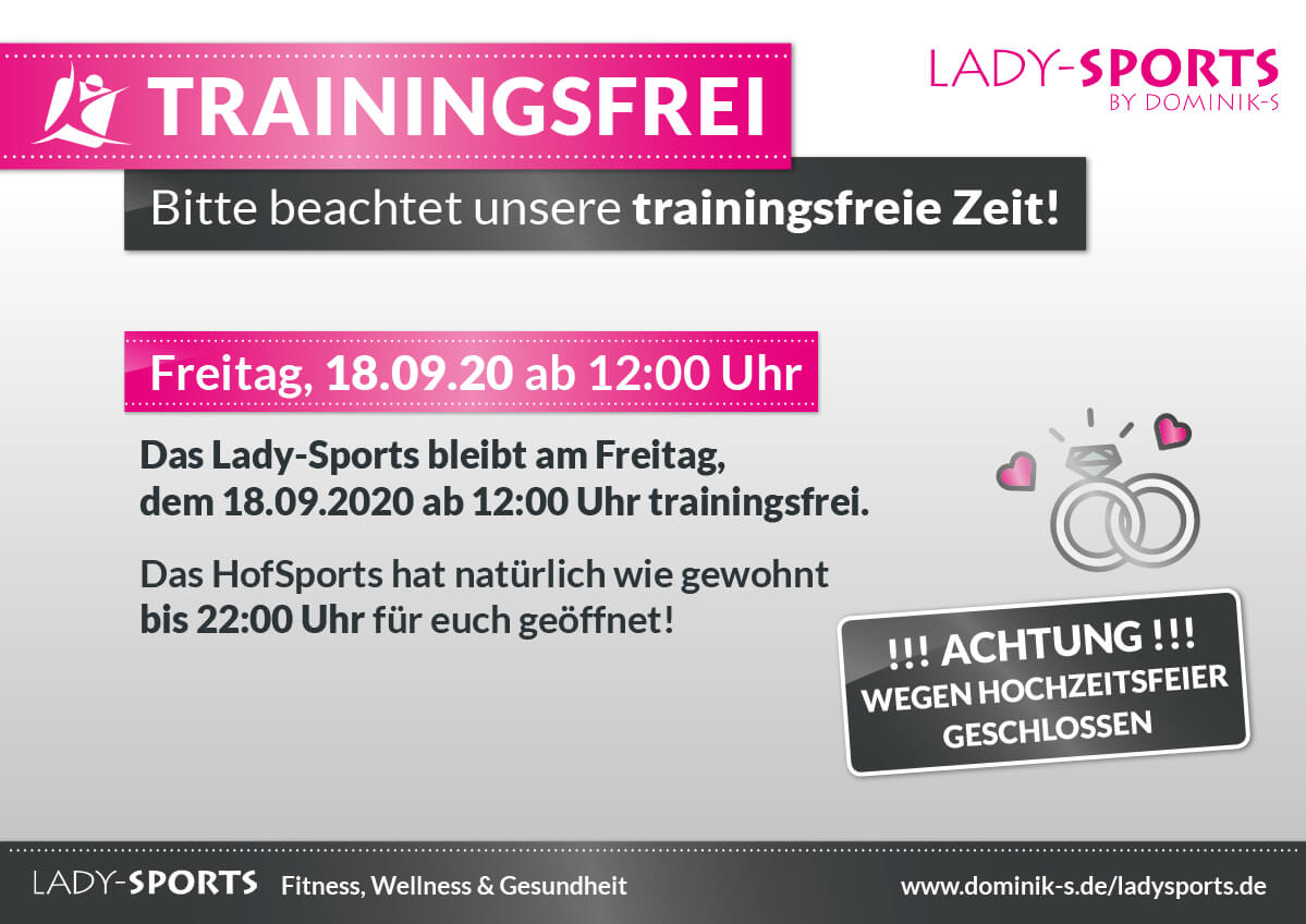 Hochzeitsfeier-LadySports-geschlossen