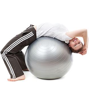 Rückentraining und Rückenschule Fitnessstudio Lady-Sports