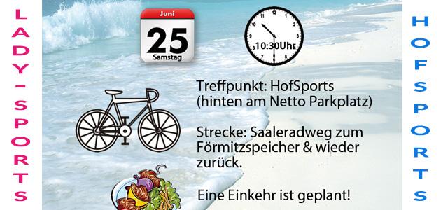 Fahrradtour zum Förmitzspeicher