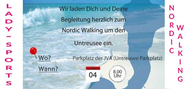 Nordic Walking um den Untreusee
