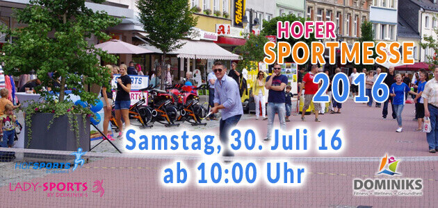Hofer Sportmesse 2016