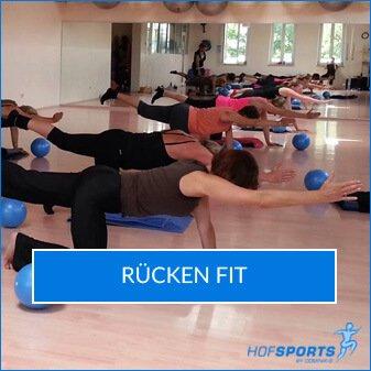 RückenFit Fitnesskurs HofSports