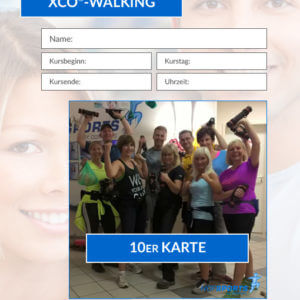 10er Karte XCO® Walking Fitnesskurs HofSports