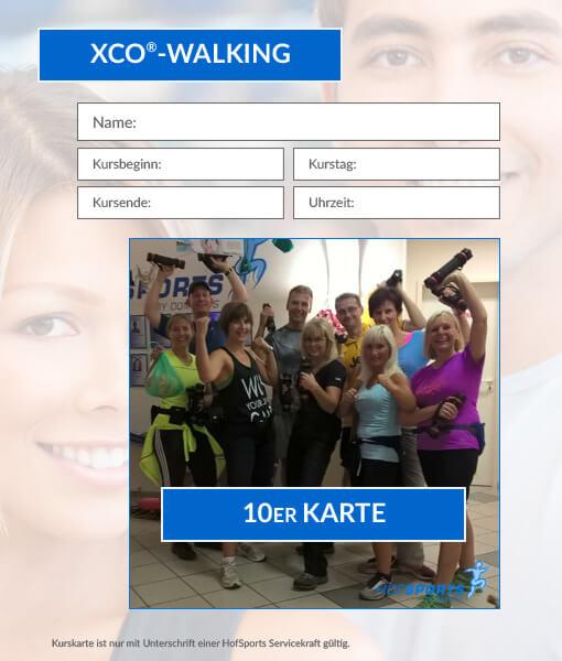 10er kurskarte xco walking dominiks fitness wellness gesundheit in hof. Black Bedroom Furniture Sets. Home Design Ideas