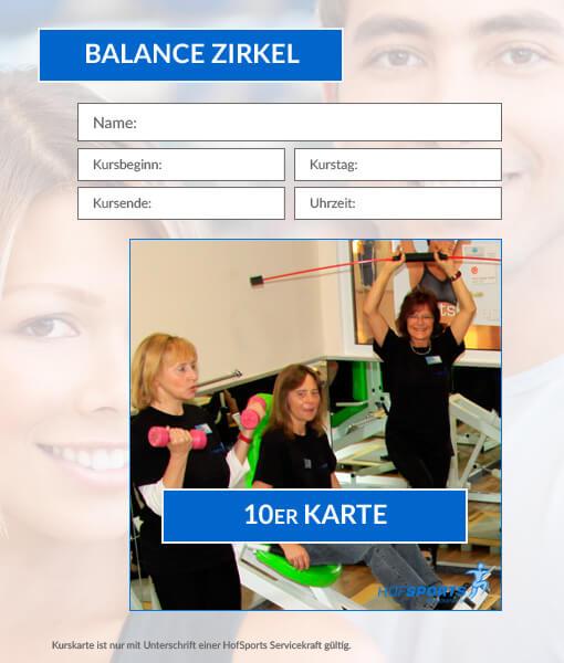10er kurskarte balance zirkel dominiks fitness wellness gesundheit in hof. Black Bedroom Furniture Sets. Home Design Ideas