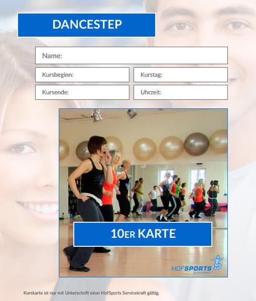 10er Karte DanceStep Fitnesskurs HofSports
