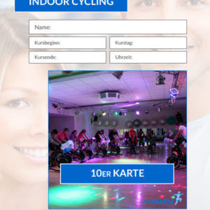 10er Karte Indoor Cycling Workout HofSports