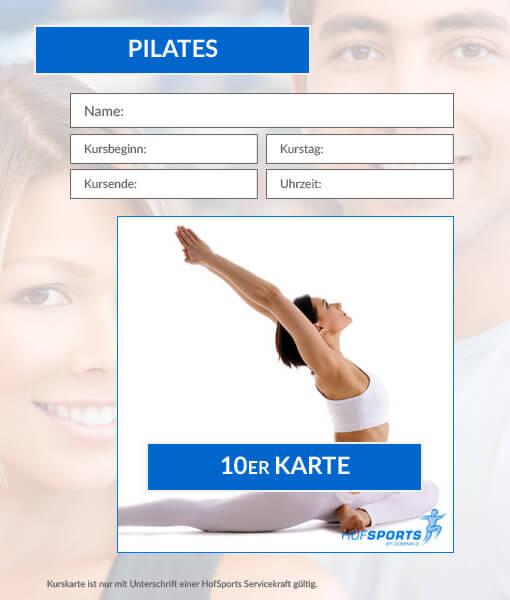 10er kurskarte pilates dominiks fitness wellness gesundheit in hof. Black Bedroom Furniture Sets. Home Design Ideas