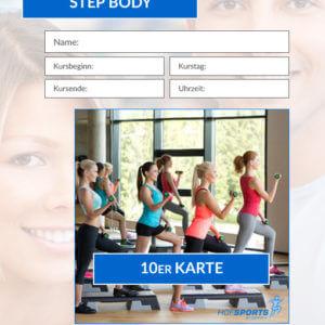 10er Karte Step&Body Fitnesskurs HofSports