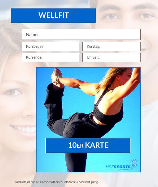 10er Karte WellFit-Gymnastikkurs HofSports