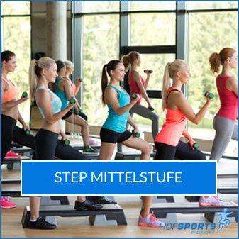 Step Mittelstufe Fitnesskurs HofSports