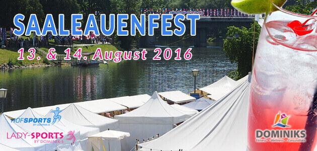 Saaleauenfest Hof 2016