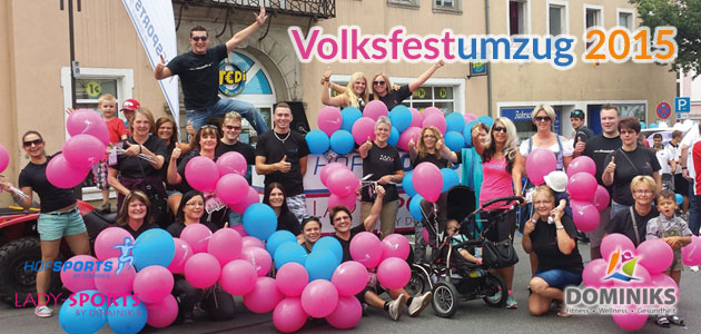 Volksfestumzug 2015
