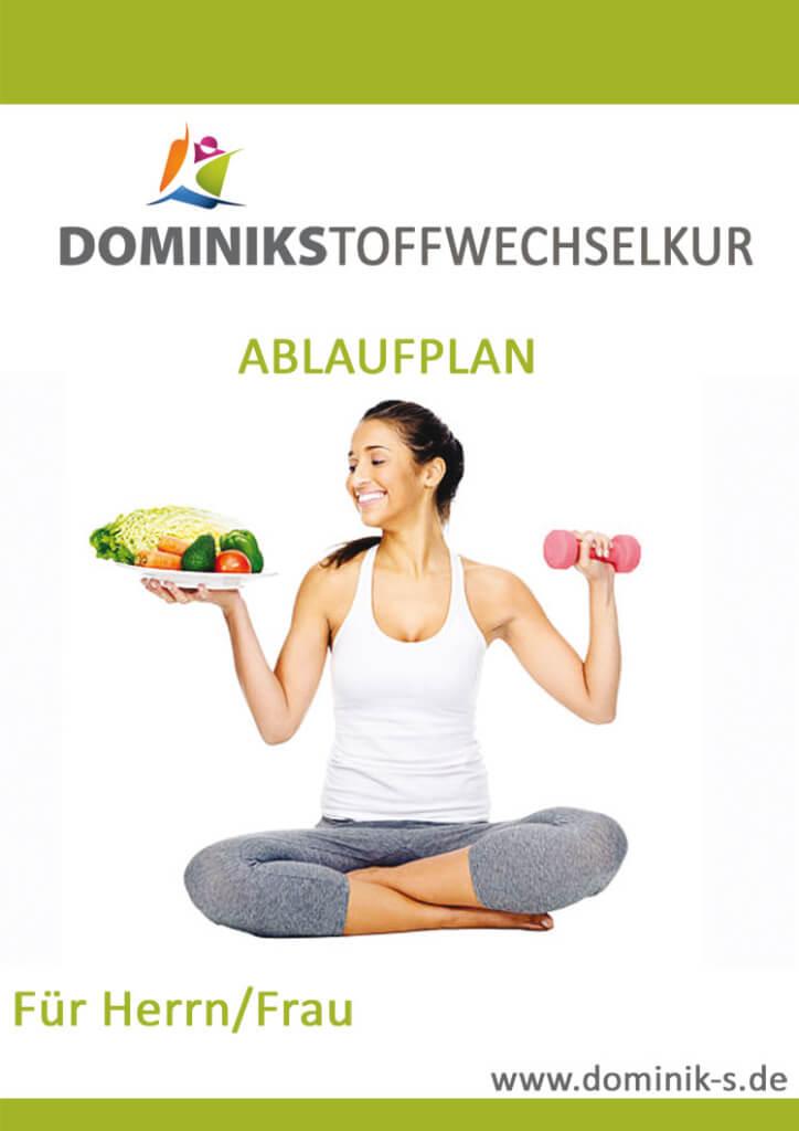 Dominiks Stoffwechselkur Ablaufplan