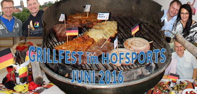 Grillfest im HofSports