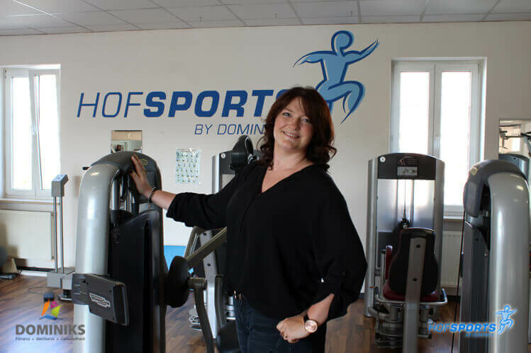 Interview mit Julia Stock zu ihrem Training im Fitnessstudio HofSports