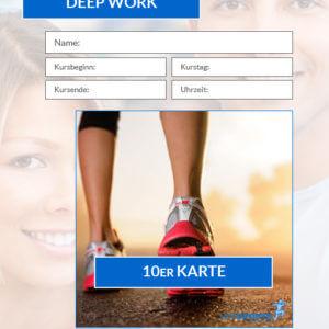 10erKurskarte Fitnesskurs Deep Work HofSports