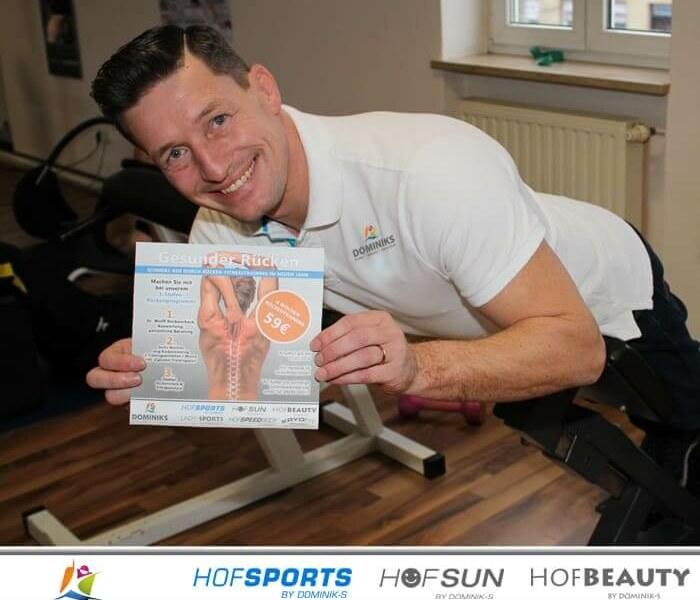 Endlich Schluss mit Rückenschmerzen – Neujahrsangebot – HofSports